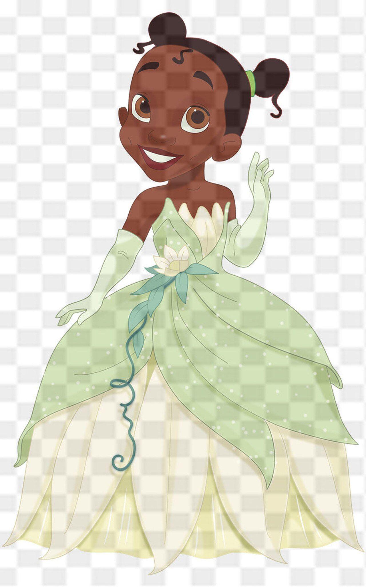 Princess Tiana And Prince Naveen As A Frog Princess Tiana Disney Princess Art Disney Princess Tiana