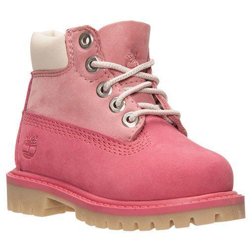 Zapatos rosas Timberland infantiles P0St5fq6m