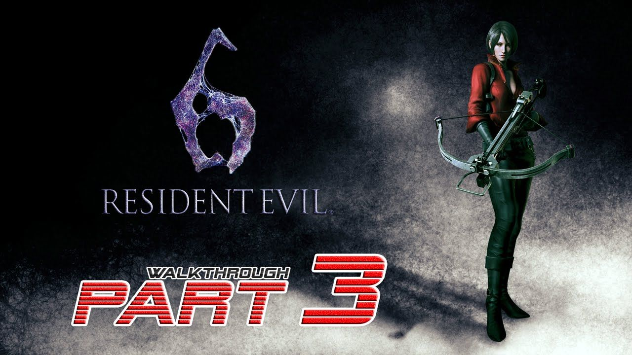Resident Evil 6 Ps4 Ada Wong Walkthrough Gameplay Part 3 60fps 1080p