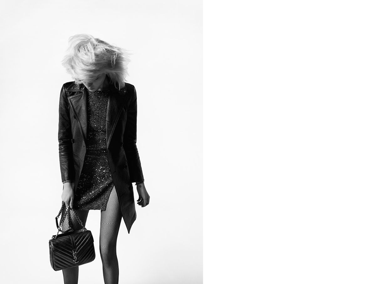 fa57c1cfc398 Saint Laurent Monogram College  discover the selection and shop online on  YSL.com