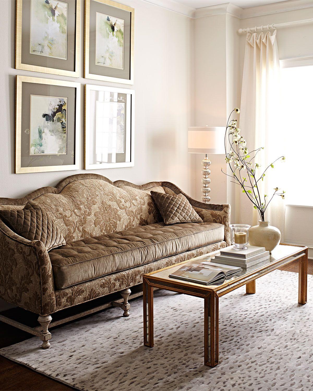 Old Hickory Tannery Jennasse Sofa Sofa design, Furniture