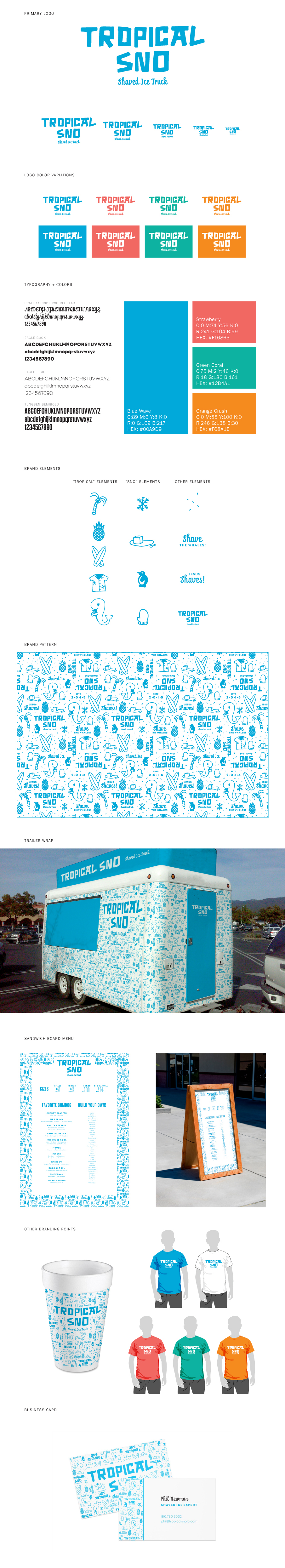 Tropical Sno on Behance