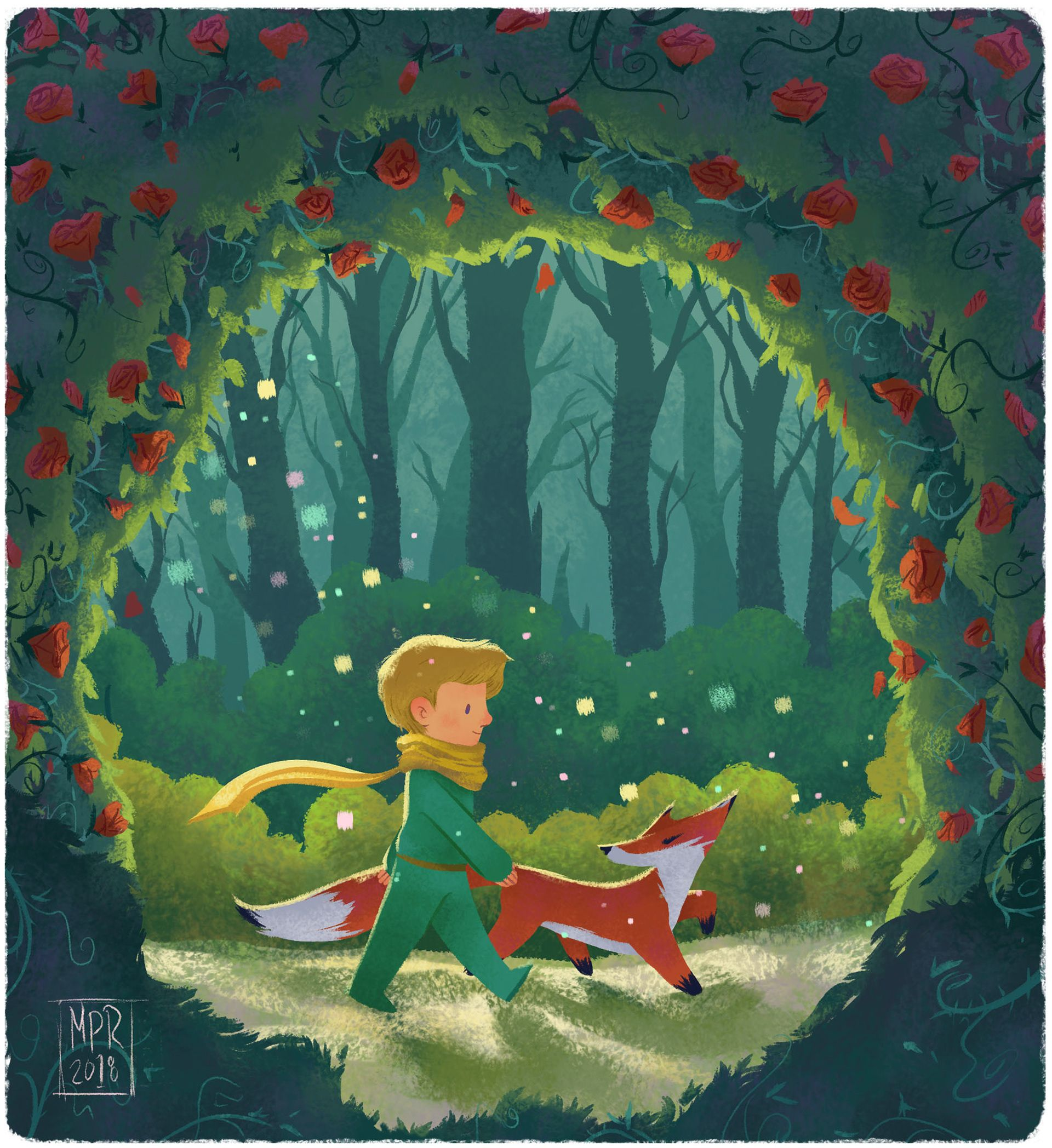 The Little Prince On Behance