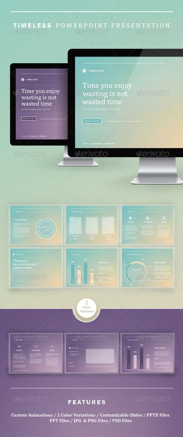 timeless powerpoint presentation graphicriver item for sale