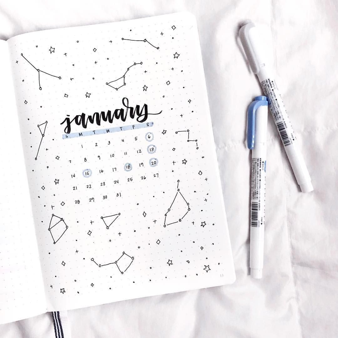 constellation theme for january
