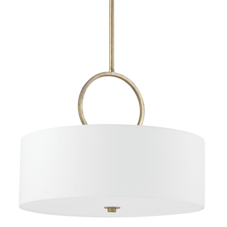 Halo Winter Gold Three Light Pendant Capital Lighting Fixture Company Drum Lightin