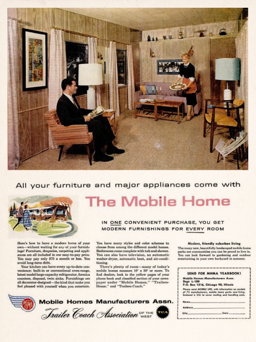 Mobile Home Manufacturers Association, 1959