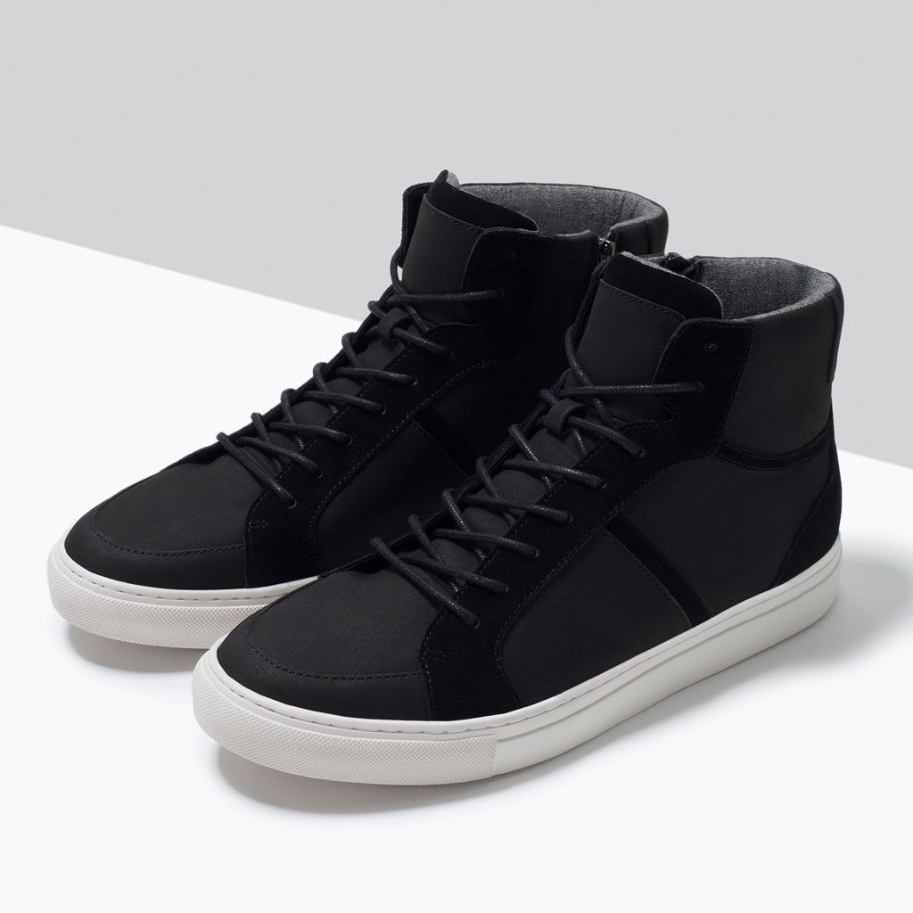 ZARA - PROMOCIJA - HIGH-TOP SNEAKER