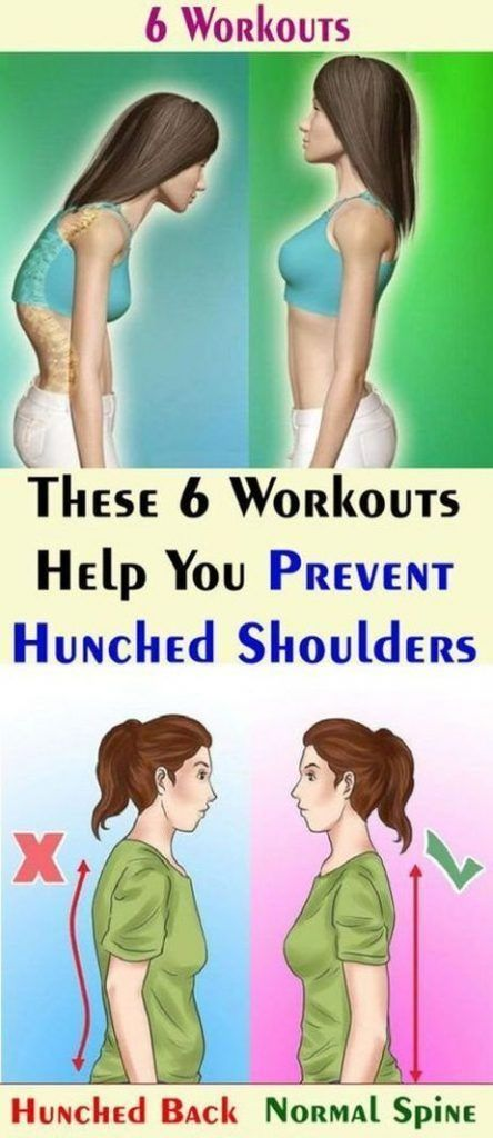 These 6 Workouts Help You Prevent Hunched Shoulders 10 Minute Workouts Lose Weight Weigh