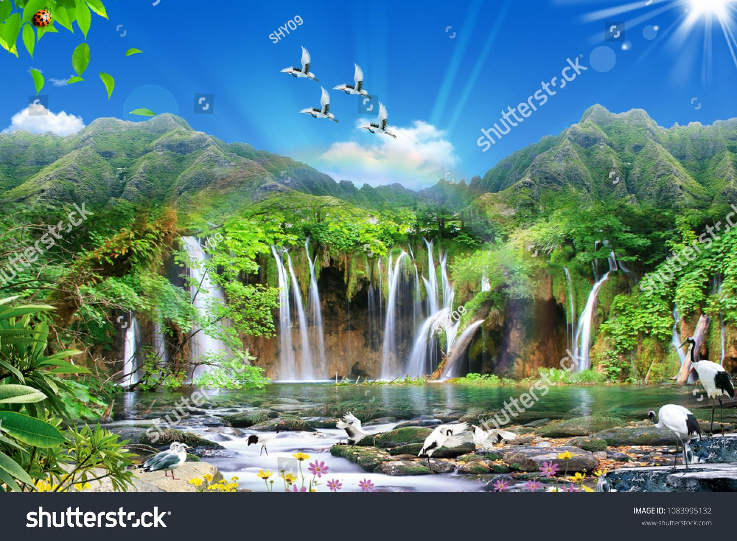 Amazing 3d Natural Viewamazing Natural View Landscape Wallpaper Nature Wallpaper Nature