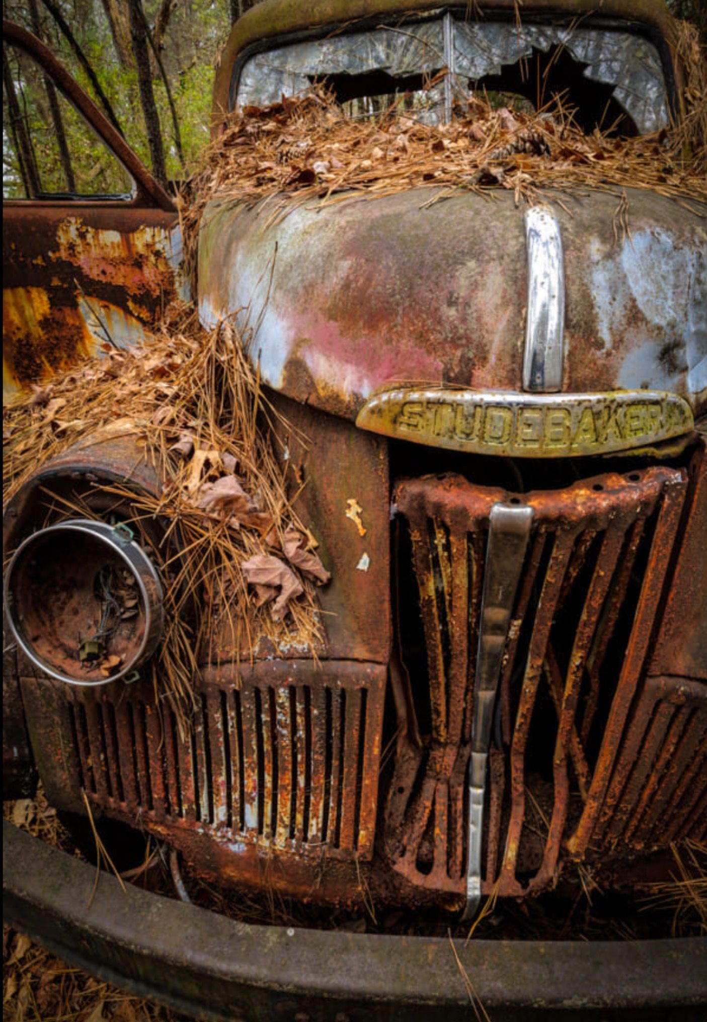 Studebaker Let S Ride Old Car City White Ga Photo By Charlie Choc Source 500px Com Old Cars Abandoned Cars Vintage Cars