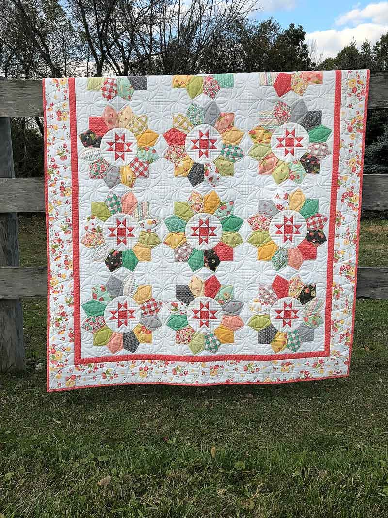 Poppyseed Quilt Pattern by Corey Yoder of Coriander Quilts #154
