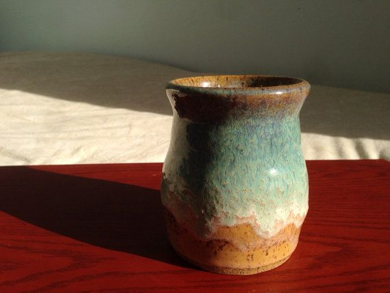 Beautifully Hand Thrown And Glazed Ceramic Vase Can Be