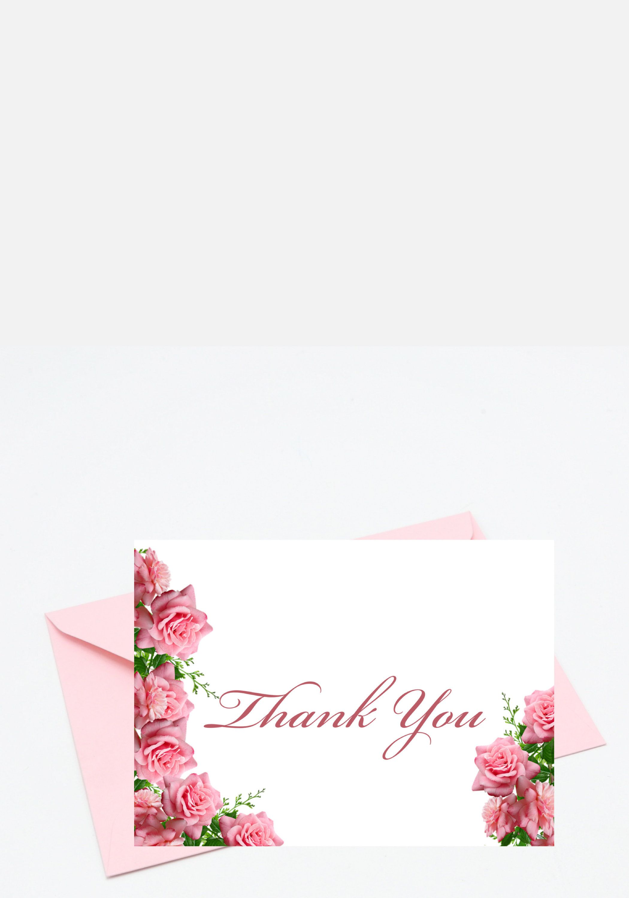 5x7 Thank You Thank You Card Happy Thoughts Printable Digital Card Blank Card Instant Download By Acardandasmileforyou Thank You Cards Cards Your Cards