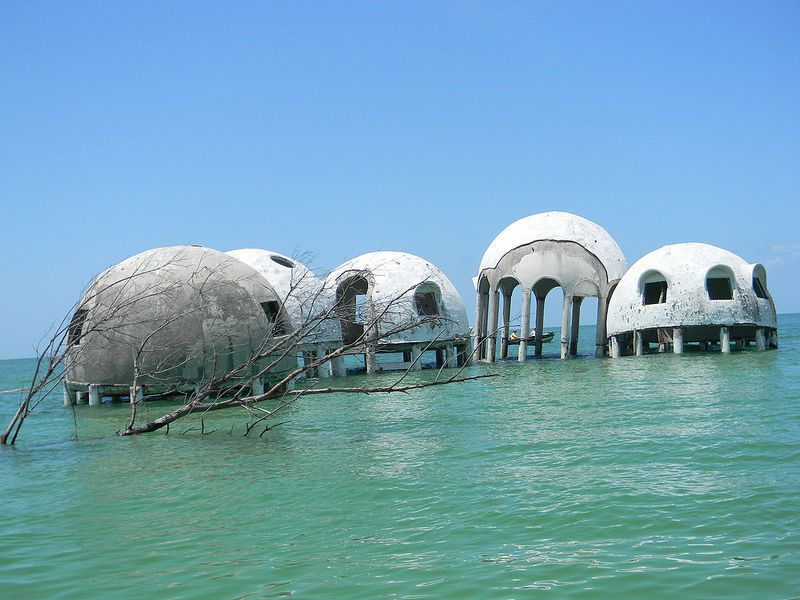 Cape Romano Dome House Photo by