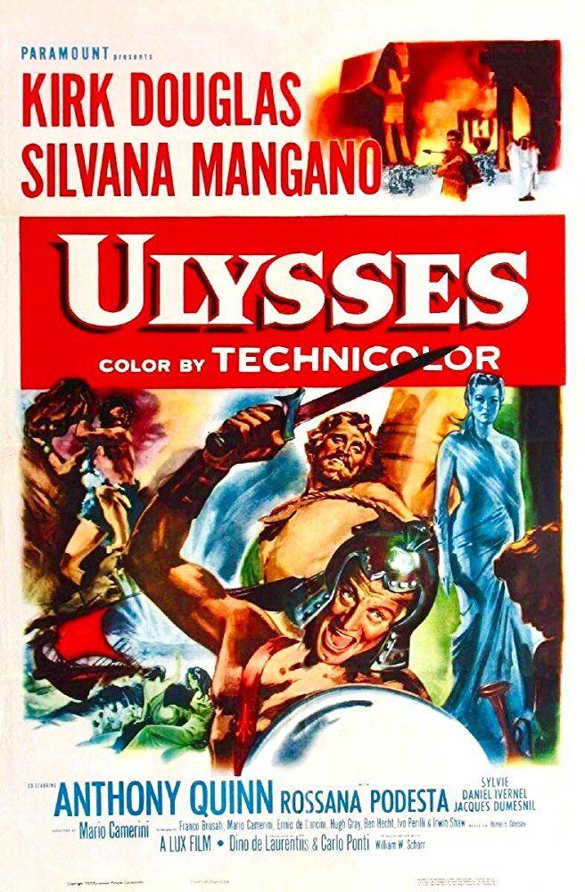 Ulysses (1954) IMDb Old movie posters, Classic movie