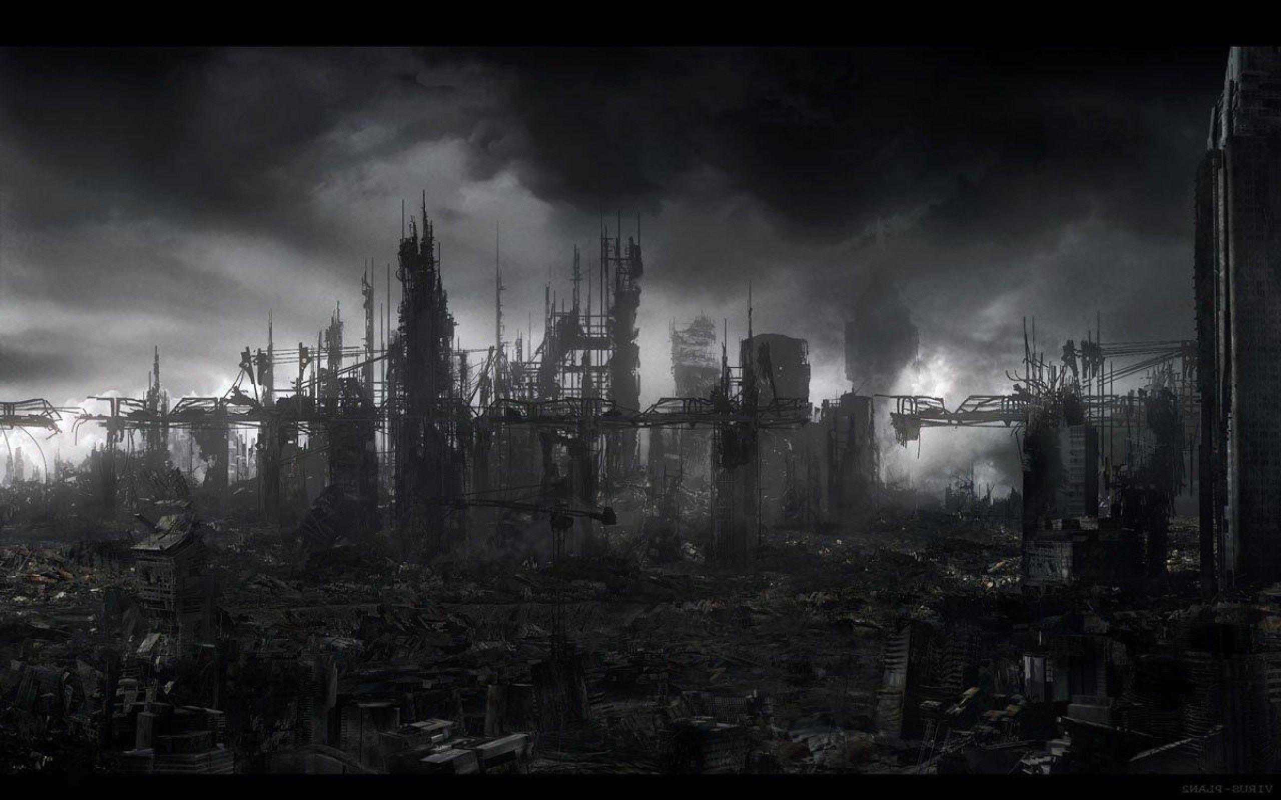 post apocalyptic background   Post apocalyptic city, Post ...