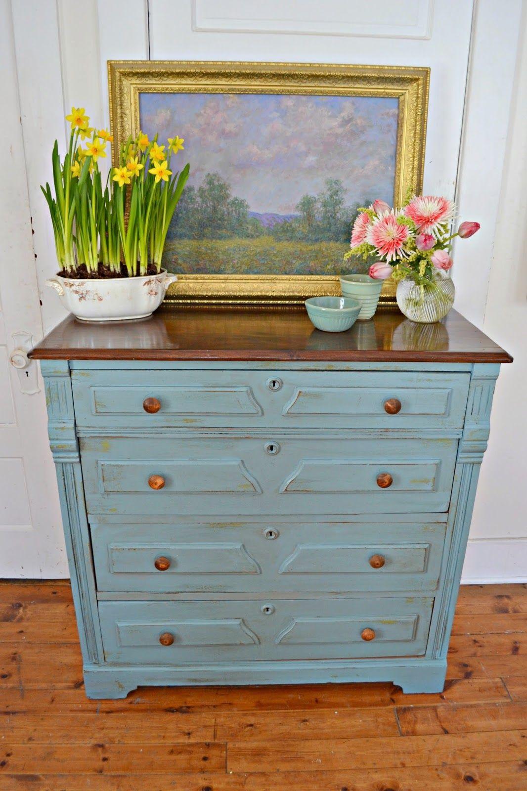 Heir and Space: An Antique Walnut Dresser
