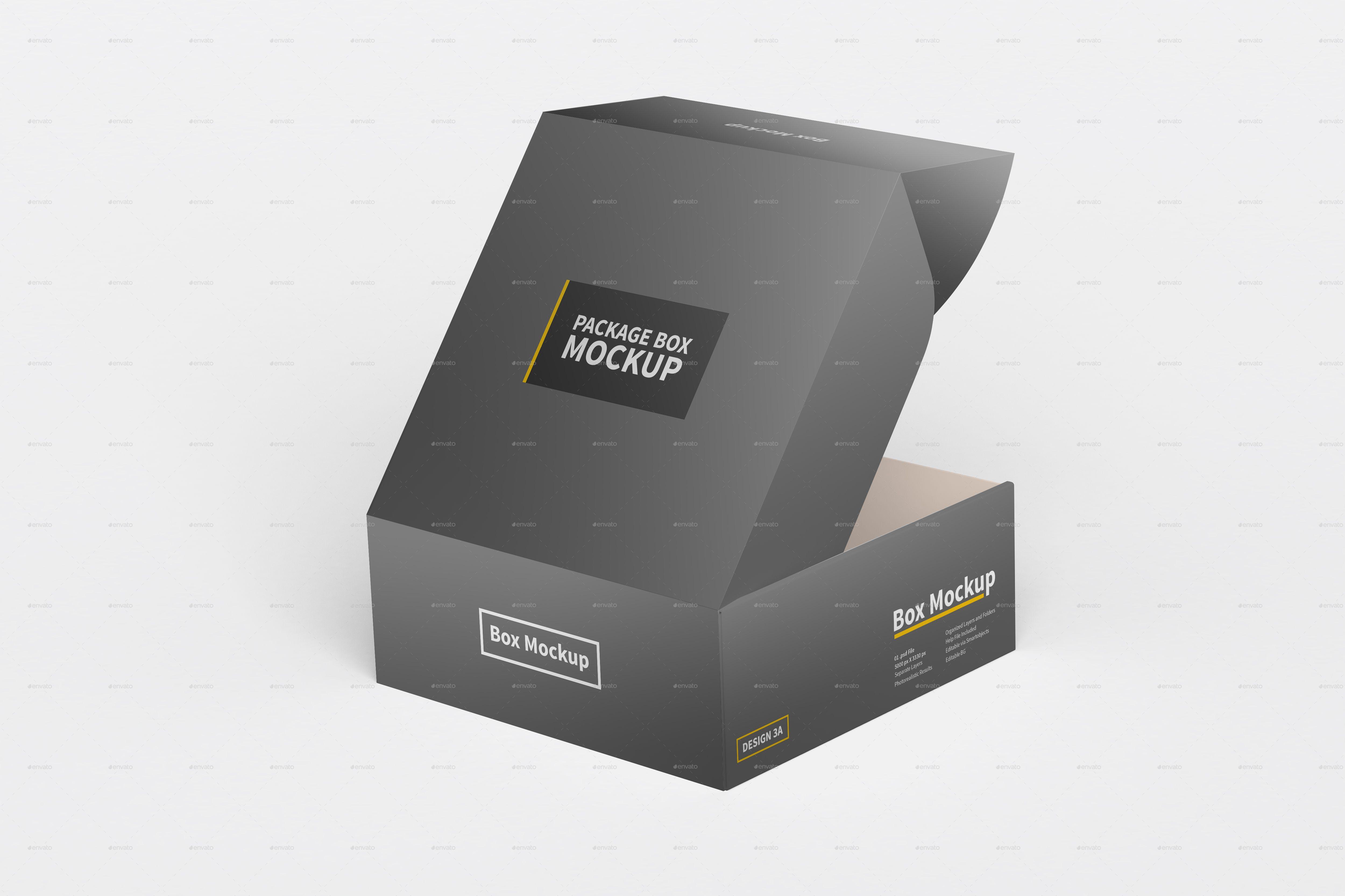 Download Square Box Package Mockup Box Mockup Box Packaging Photo Layers
