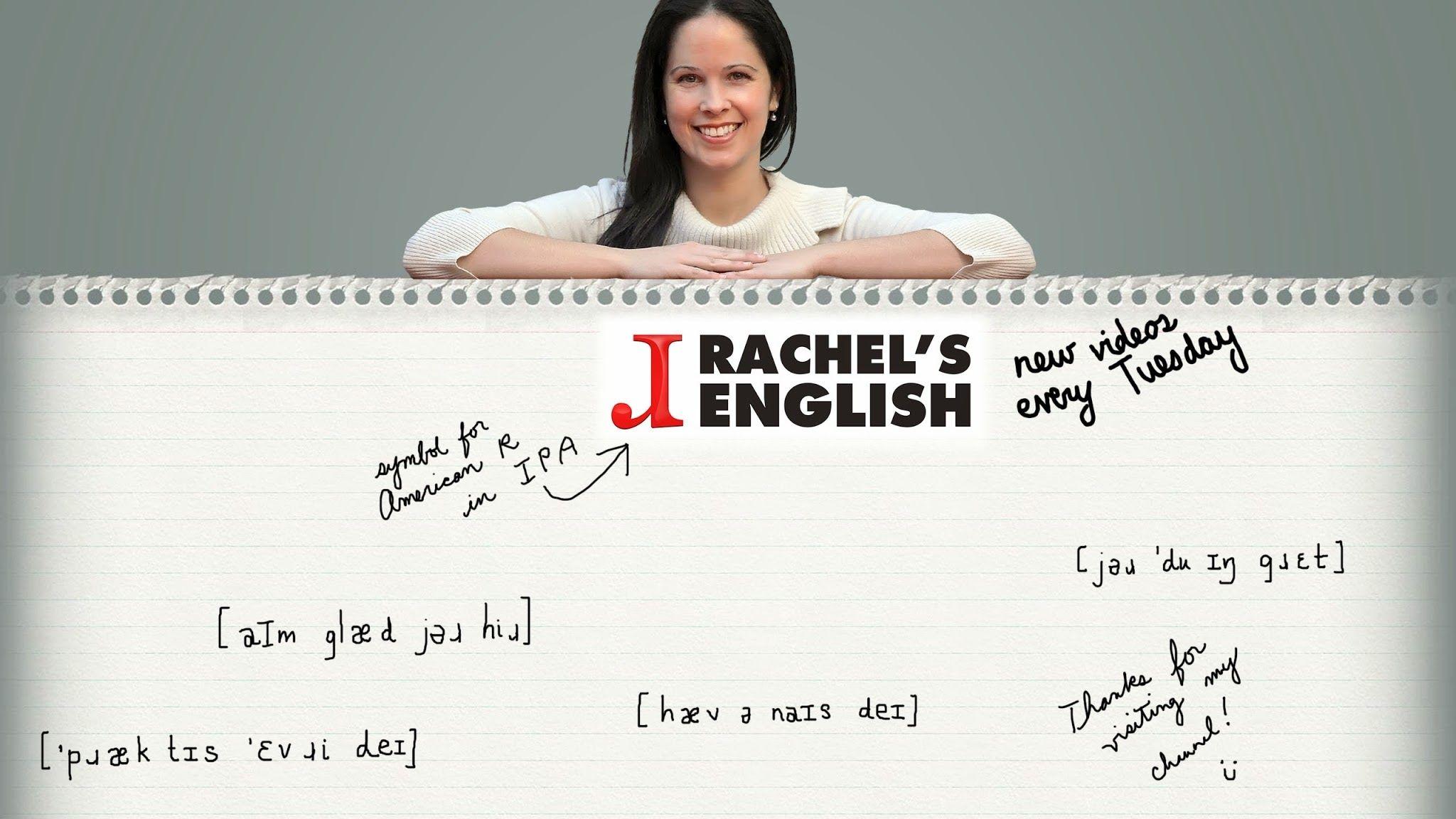 Rachel's English YouTube Образование