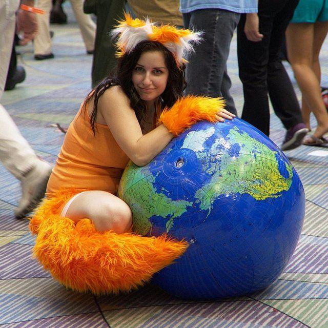 Lustige Idee Selbstgemachte Faschingskostume Firefox Costumes