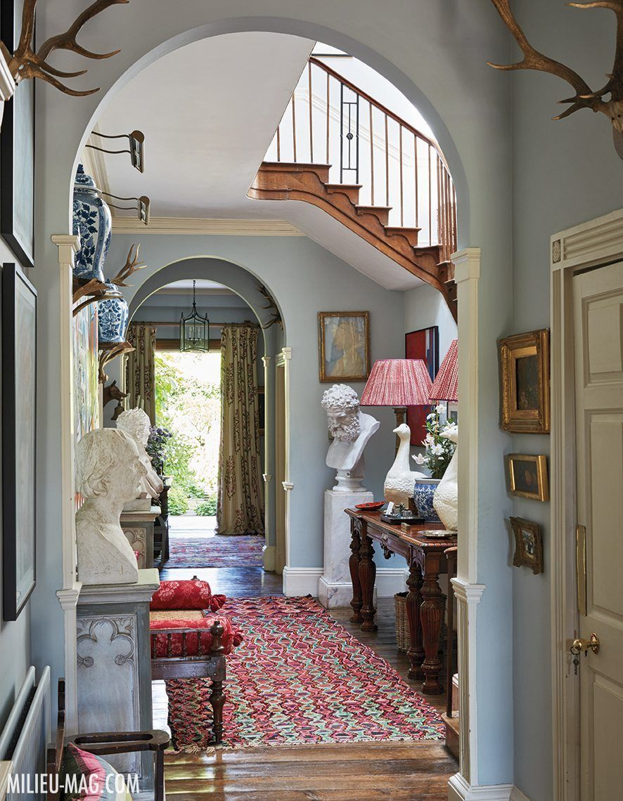 Inside penny morrison 39 s 18th century welsh country home - Country homes and interiors pinterest ...