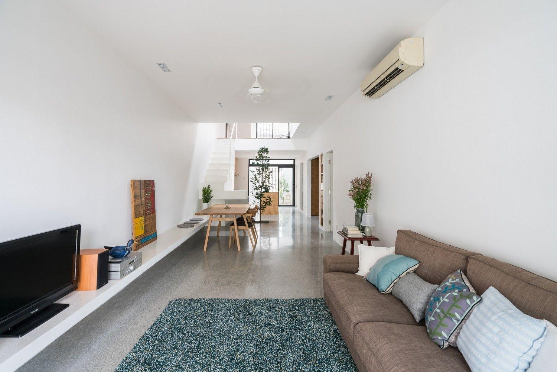 Jose House Fabian Tan Architect One Storey House Minimal House Design Terrace House