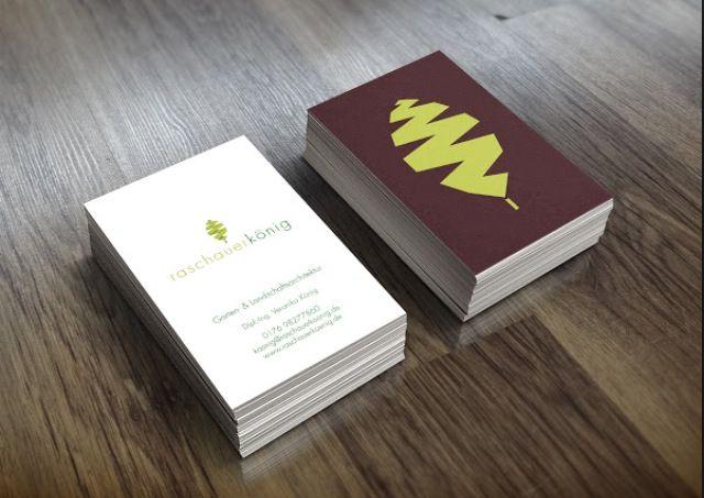 Business card idea Advertising Landscape Design Pinterest