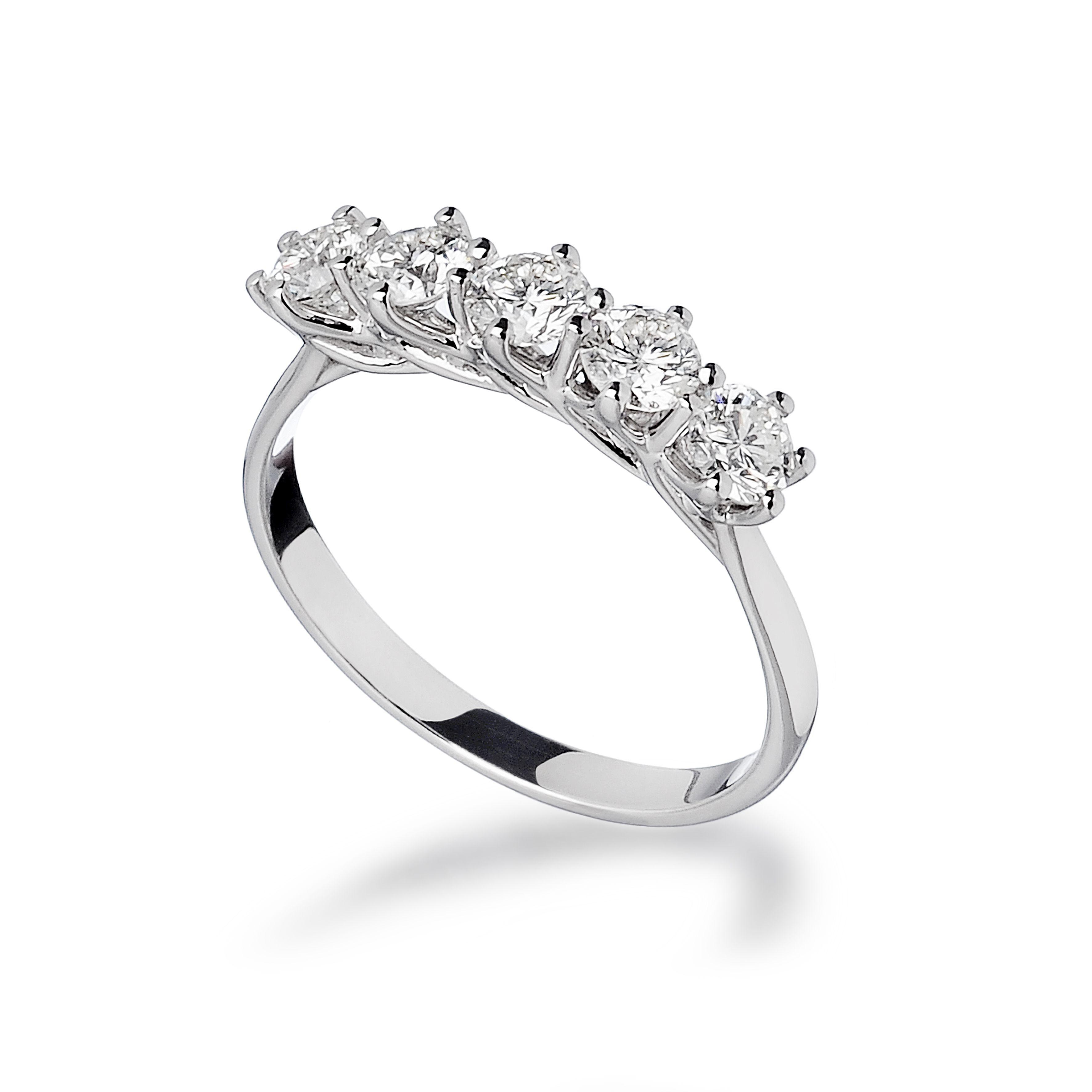 Pin Su Collezione Anelli Con Diamanti By Diamitaly