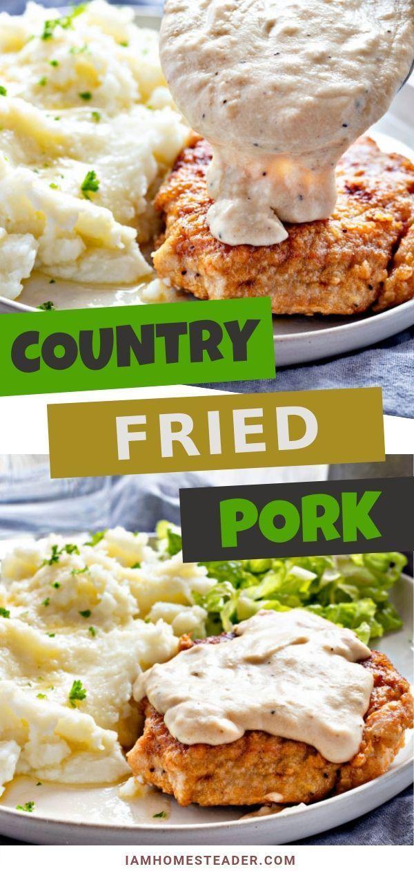 Country Fried Pork