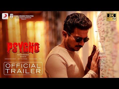 Psycho Trailer Tamil Udhayanidhi Stalin Ilayaraja Mysskin Aditi Rao Hydari Nithya Menen Kerala Lives In 2020 Trailer Latest Trailers Menen