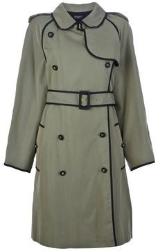 Chanel double-breasted trench coat  | More here: http://mylusciouslife.com/shopping-where-to-buy-new-and-genuine-vintage-chanel-items-online/