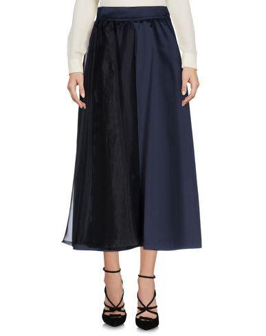ALESSANDRO DELL'ACQUA Women's 3/4 length skirt Dark blue 6 US