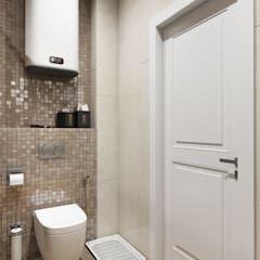 Banheiros modernos por Дарья Баранович Дизайн Интерьера