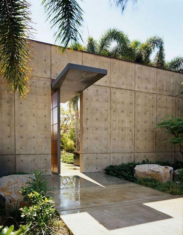 30 idées de conception du0027entrée modernes pour votre maison Falcons - allee d entree maison