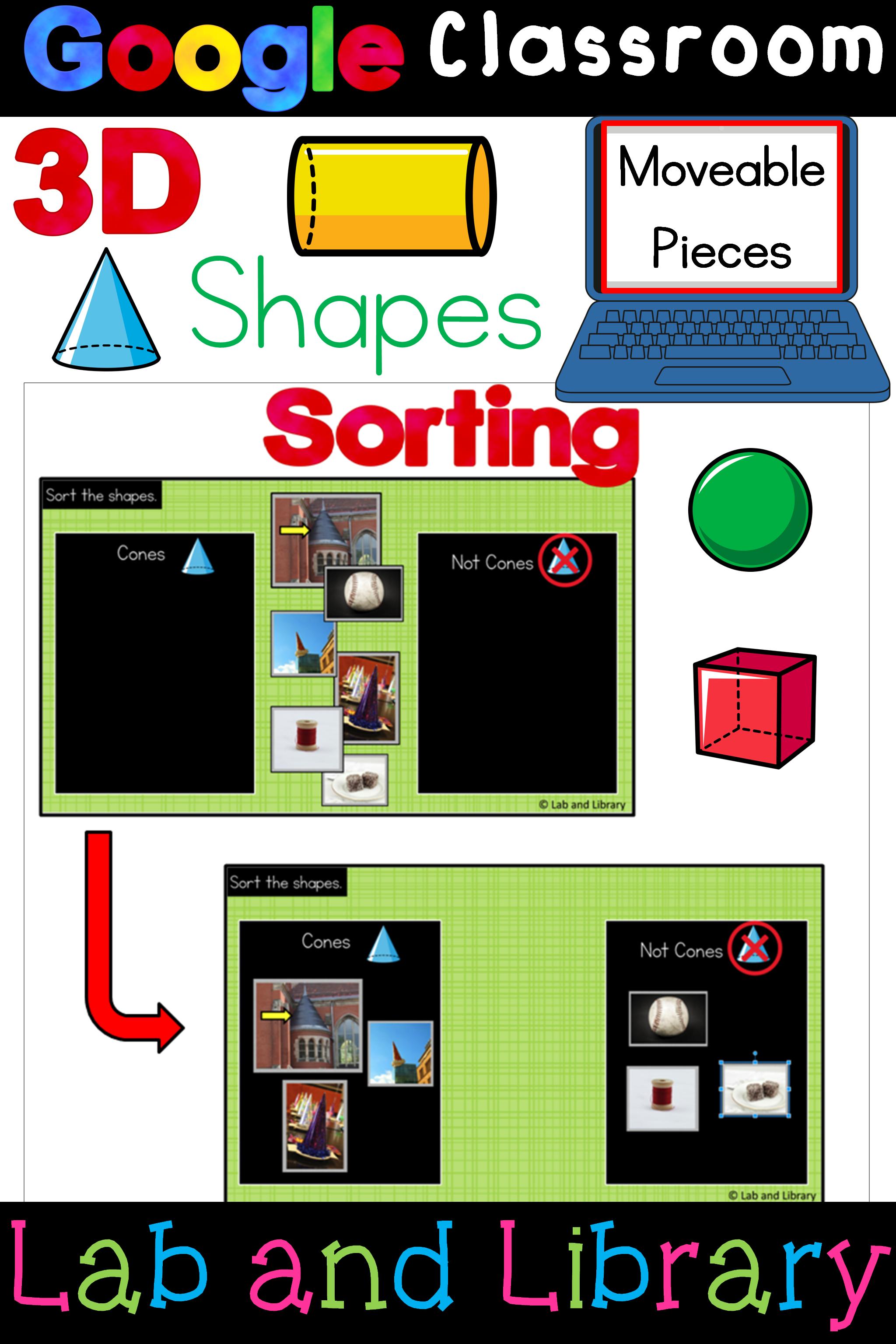 3d Shapes Digital Activities For Classroom