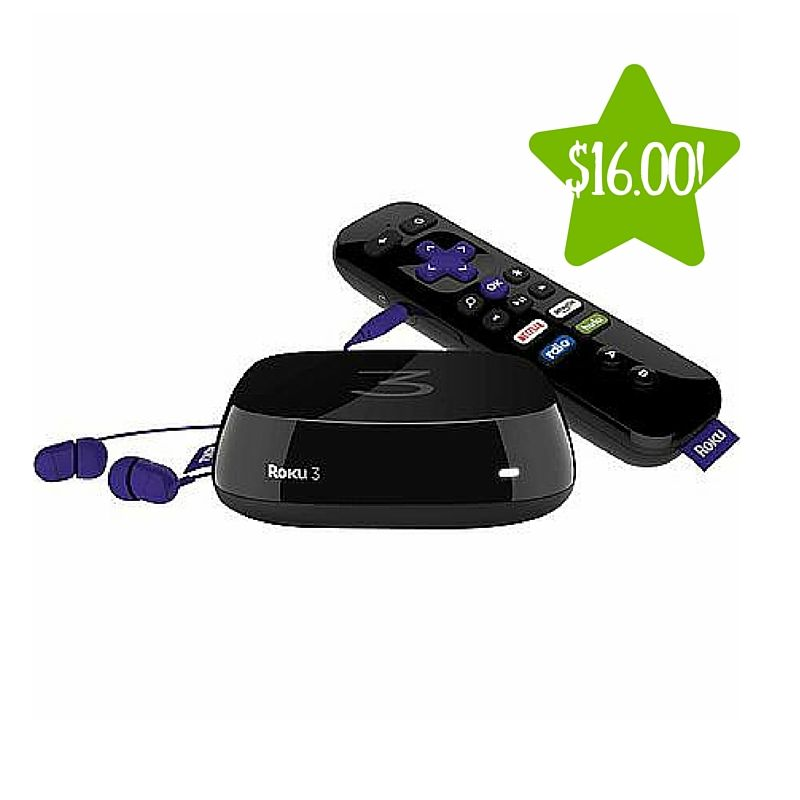*Expired* Roku 3 Streaming Player Only 16 After Points
