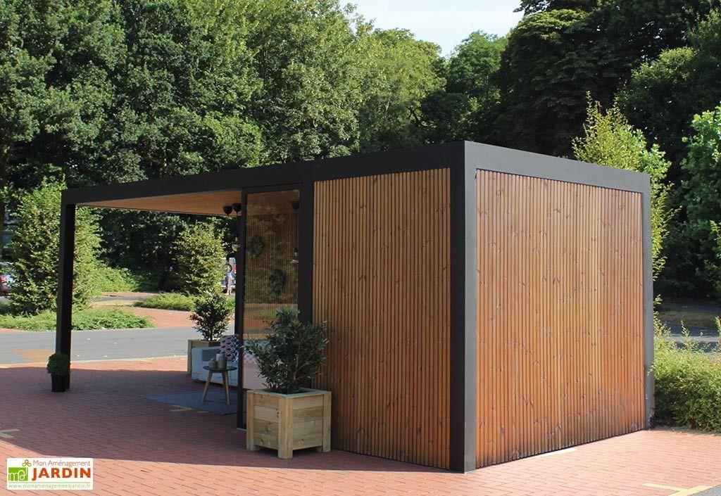 pool house abri jardin en aluminium