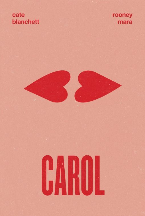 Carol Valentine S Day Movie Poster Award Season Pinterest