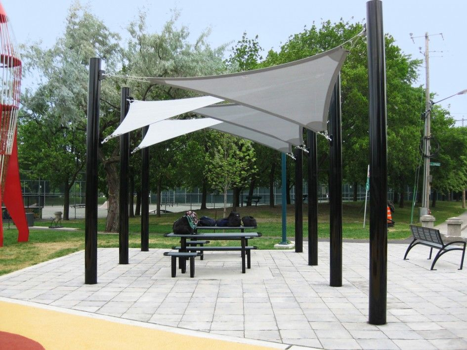 Backyard patio ideas patio shade beautiful sail cloth for Small patio shade ideas