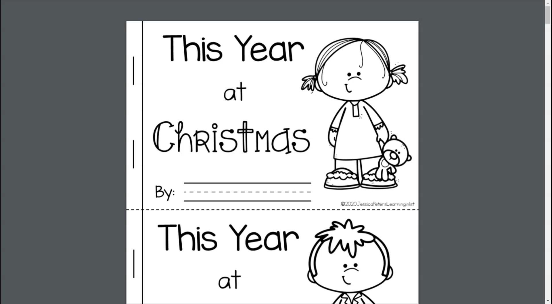 Freebie Follow On Tpt For 12 Days Of Christmas Freebies Video Going Back To School New School Year Learning [ 1060 x 1920 Pixel ]