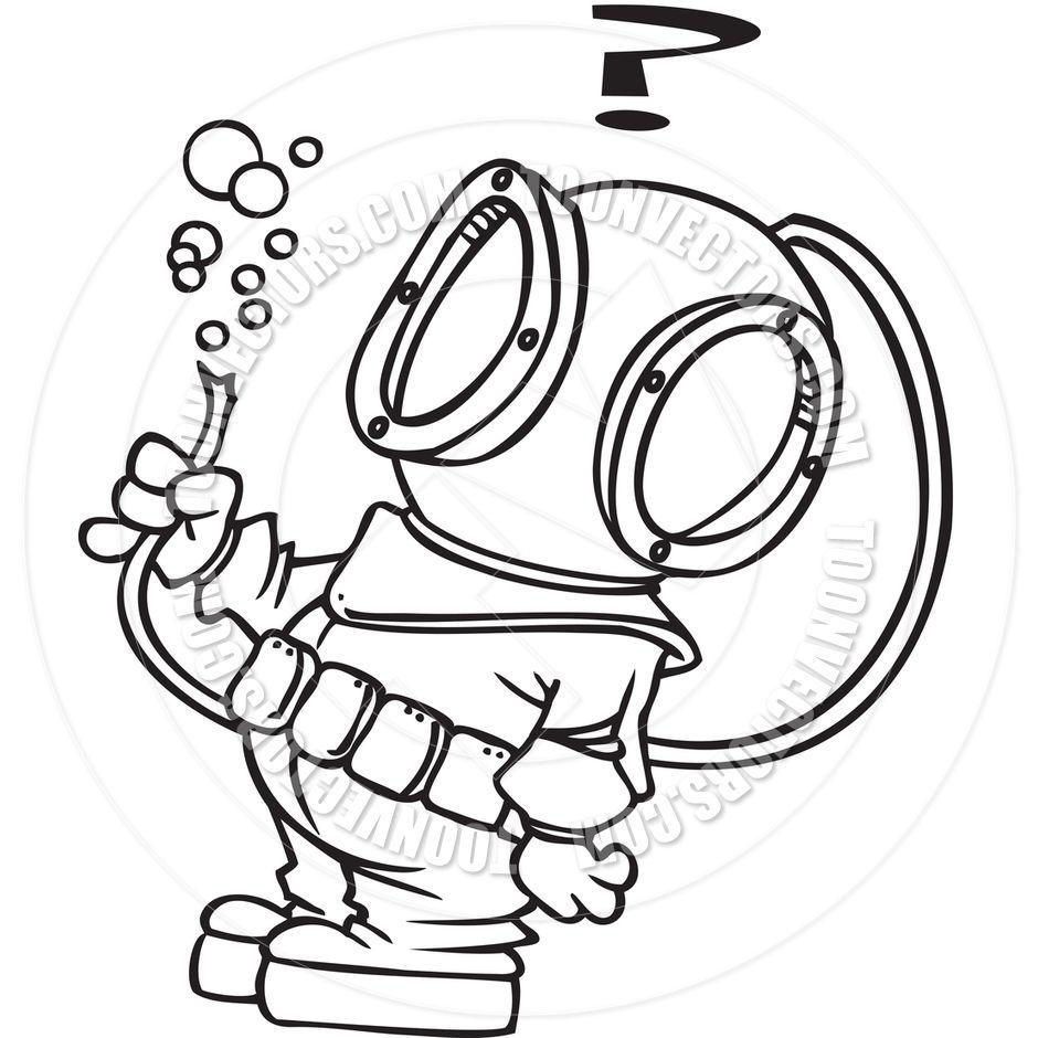 Image Result For Dive Suit Cartoon Drawing Scuba Diving Scuba