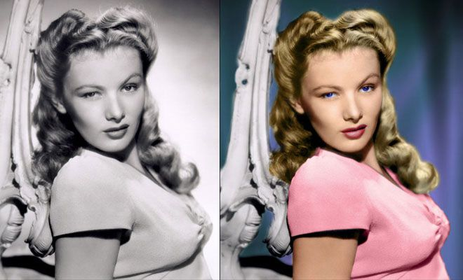 40 Photoshop Coloring Works - Colorize old black and white photos ...