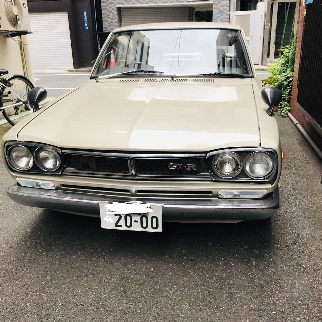 かっこいいなぁ 旧車 もう今の車ボロボロになるまで乗ろうかなぁっていつも思うけどできない笑笑 Skyline Gt R 旧車 ハコスカ ハコスカgtr