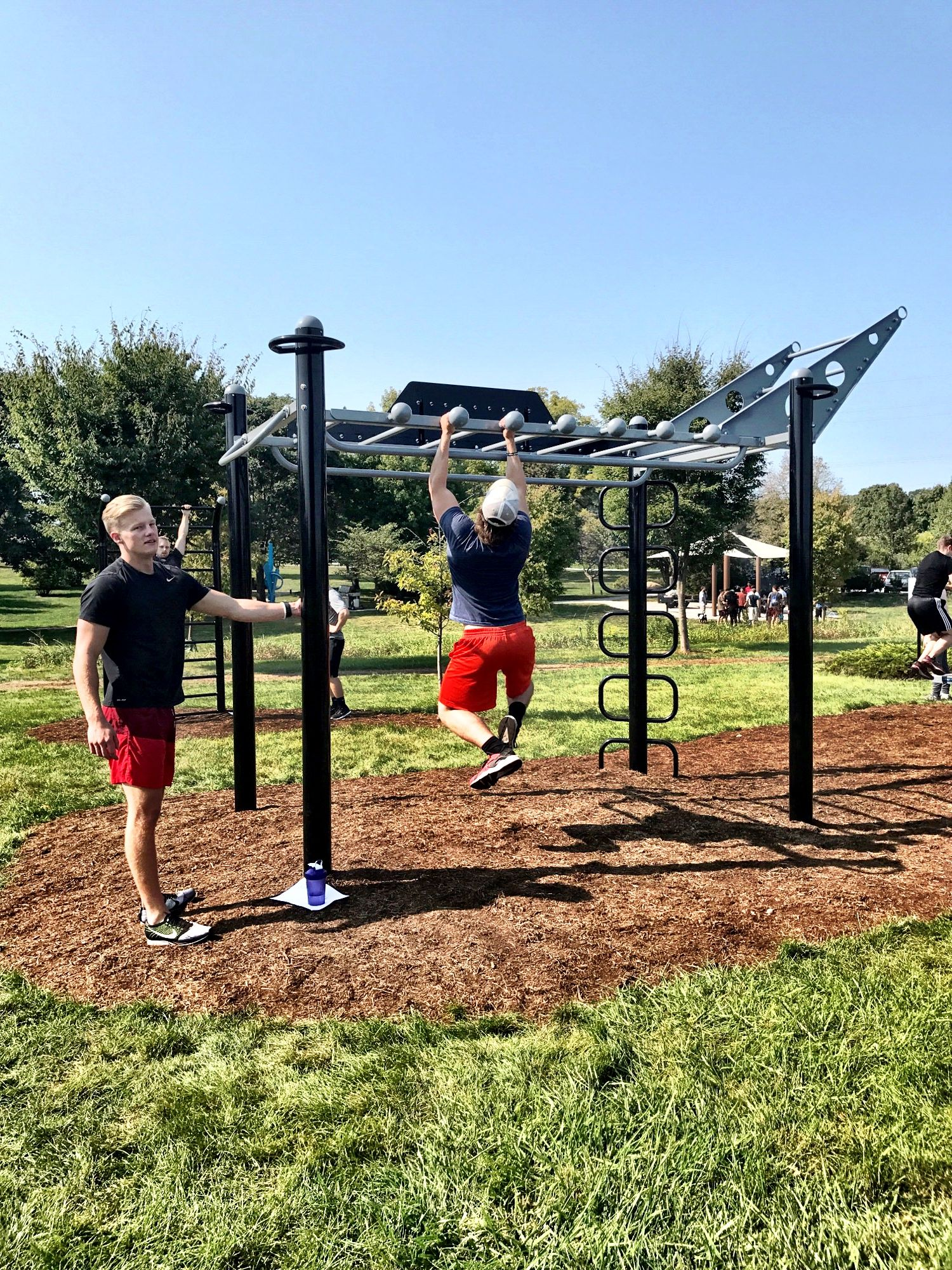 Purdue University Recreation Adds Dedicated Outdoor Functional Fitness And Calisthenics Training Area With Calisthenics Training Calisthenics Calisthenics Diet