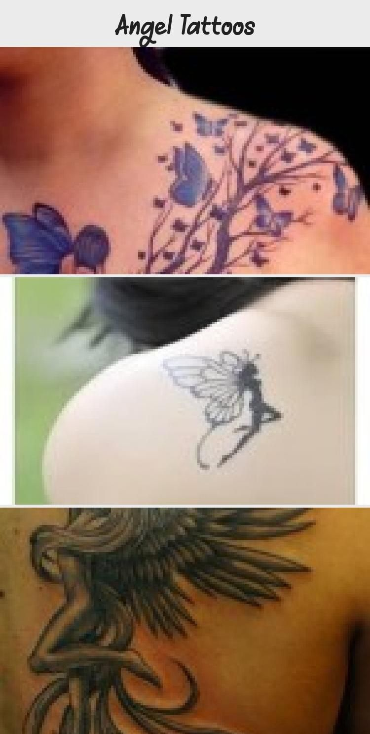 Angel Tattoos Tattoos Neck Tattoos Women Angel Tattoo Designs