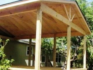 patio cover designs | deck plans for mobile homes « floor plans ... - Patio Roof Designs Plans