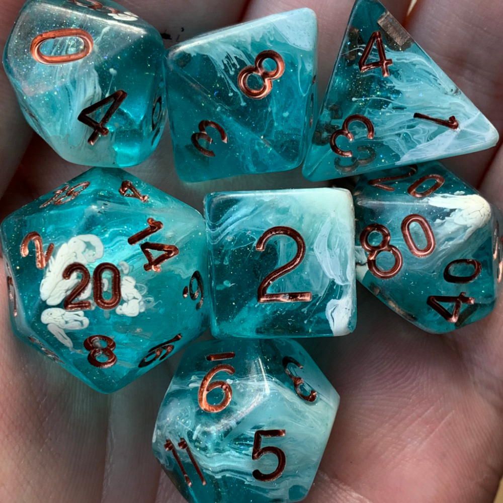 Dungeons And Dragons Dice, Dungens And