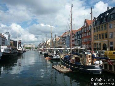 Copenhague Capitale Heureuse Circuit Copenhague Le Guide Vert Michelin Copenhague Touriste Lieux A Visiter