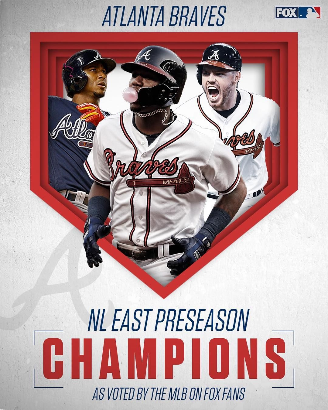 Mlb On Fox On Instagram We Asked And You Voted The Braves Will Repeat As Champions Of The Nl East In 2019 Braves Mlb Atlanta Braves